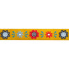 "Folk Stylised Flower-Dinara -7/8""-by yd"