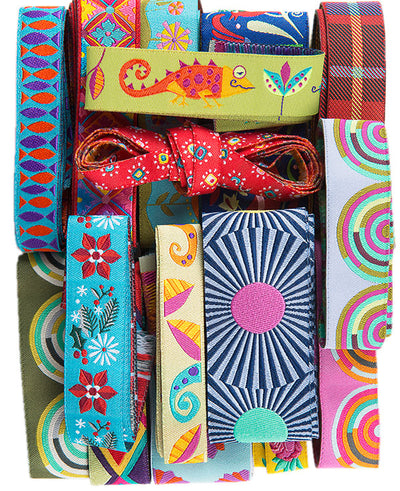 DP-01 each pack unique Designer Ribbons off-cuts-