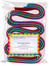 "6 yd multicolor 1.25""  Heavyweight Cotton Webbing"
