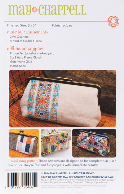 May Chappell Clutched Sewing Pattern