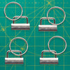 4 sets Key Fob Hardware 1.25""