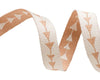 "Camel Follow Me arrow reversible - Bonnie Christine - 3/8"" -by the yard"