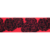 "Rose Ribbon by LFN Textiles - 1-1/2""- by the yard"