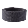 "1.25"" Charcoal Heavyweight Cotton Webbing"