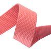 2yd-Coral Heavyweight Cotton Webbing