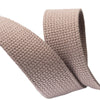 "1.25"" Grey Heavyweight Cotton Webbing-per yard"