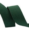 "1.25"" Huntergreen Heavyweight Cotton Webbing-per yard"