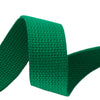 "1.25"" Kellygreen Heavyweight Cotton Webbing-per yard"