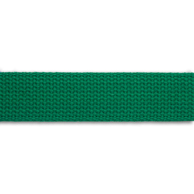 2yd-Kelly Green Heavyweight Cotton Webbing