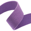 "1.25"" Lavender Heavyweight Cotton Webbing-per yard"