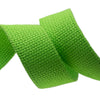 2yd-Lime Heavyweight Cotton Webbing