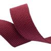 2yd-Maroon Heavyweight Cotton Webbing