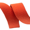 "1.25"" Orange Heavyweight Cotton Webbing-per yard"
