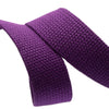 2yd-Purple Heavyweight Cotton Webbing