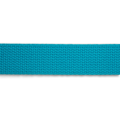 2yd-Turquoise Heavyweight Cotton Webbing