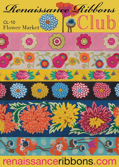 CL-10Ribbon Club CL-10 Flower Market