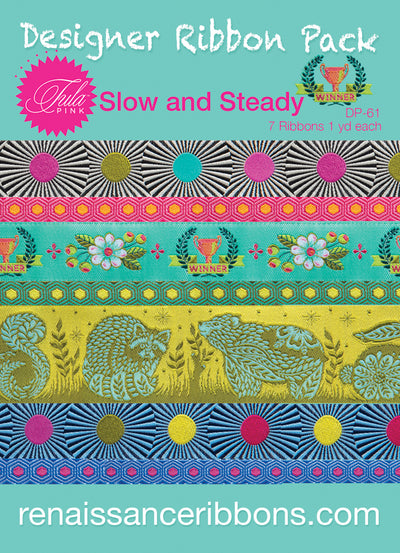 Tula Pink-Slow and Steady-Designer Pack