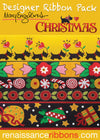Mary Engelbreit-Christmas Ribbon Pack