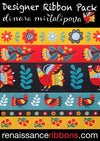 Dinara Mirtalipova Folk Birds Ribbon Pack