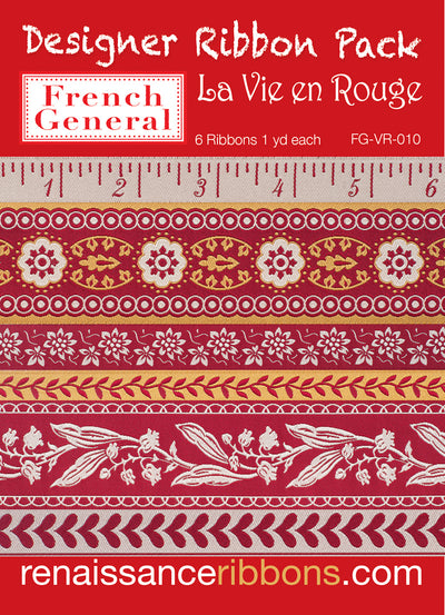 Dp-La vie en Rouge-French General-Designer Pack