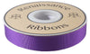 "Purple French Silky Grosgrain - 7/8"" -by the yard"