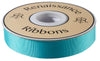 "Aqua French Silky Grosgrain - 7/8"" -by the yard"
