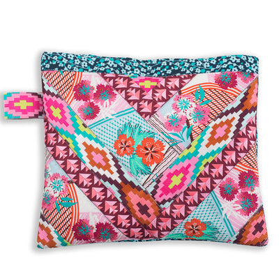 Kit Chevron POUCH Pink Collage