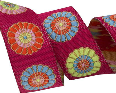 "Turkish Flowers by Kaffe Fassett - 5/8"" -by the yard"