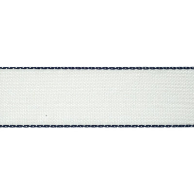 "Blue-edge linen - 1-3/8"" - by the yard"