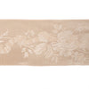 Rose garland wide satin in pale peach - by 1/2 yd