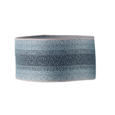 Sparkling blue-gray ombre stripes - by 1/2 yd
