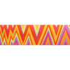 "Flame Stitch Orange Pink Lime by Kaffe Fassett - 1-1/2"" - by the yard"