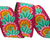 "Daisy on Plum- Kaffe Fassett - 7/8"" -by the yard"