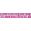 "Gerbera White on Pink - 7/8"" - Kaffe Fassett - by the yard"