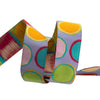 "Paint Pots on Grey - 7/8"" - Kaffe Fassett - by the yard"