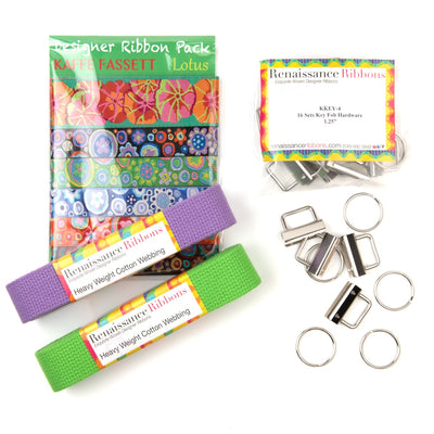 Kaffe Fassett Key fob kit