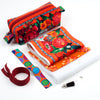 Kit Zipper Pouch Velvet Istambul on Orange
