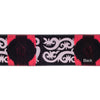 "Bold suzani flower in hot pink - LFNT - 1-1/2""- by the yard"