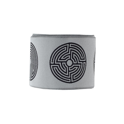 "Labyrinth black/white - LFNT - 2""- by the yard"