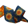 "Navy Marigold - LFN Textiles - 1-1/2""- by the yd"