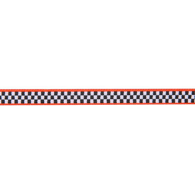 "Tiny Checkerboard /red edges-Mary Engelbreit -3/8""_ by the yd"