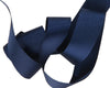 "Navy blue French Silky Grosgrain - 7/8"" -by the yard"