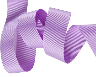 "Lavender French Silky Grosgrain - 7/8"" -by the yard"