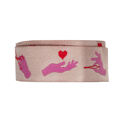"Busy Fingers,Morning Pink-Tula Pink-7/8""-by the yd"