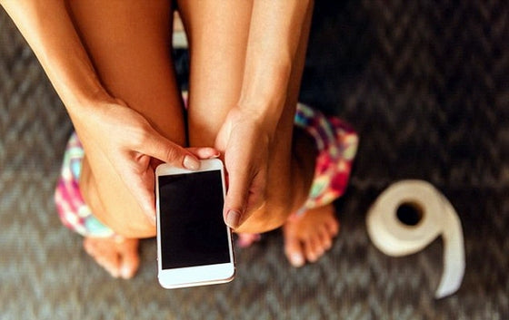One out of five people have dropped their cell phone into the toilet! (Plaxo Survey)