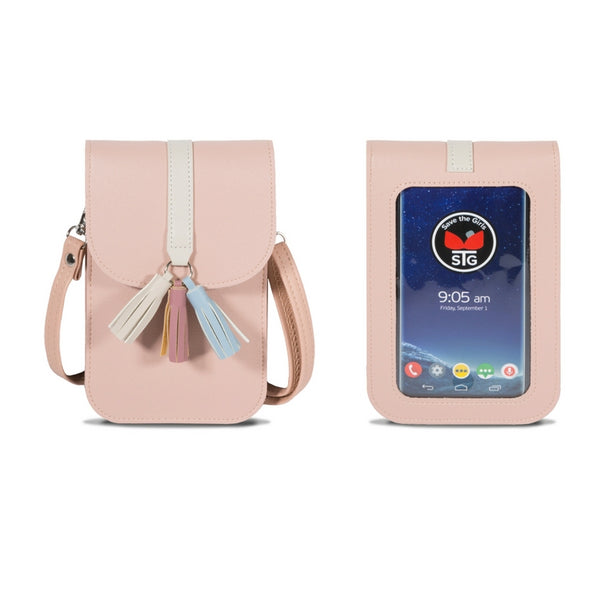 Arizona (Touch Screen) Cell Phone Purse with Extra Deep Pocket and Credit Card Slots