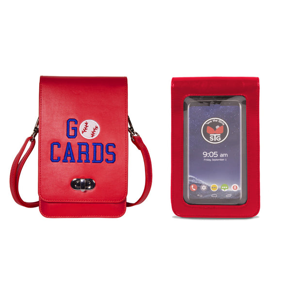 Go Cards Embroidered Purse (RFID)