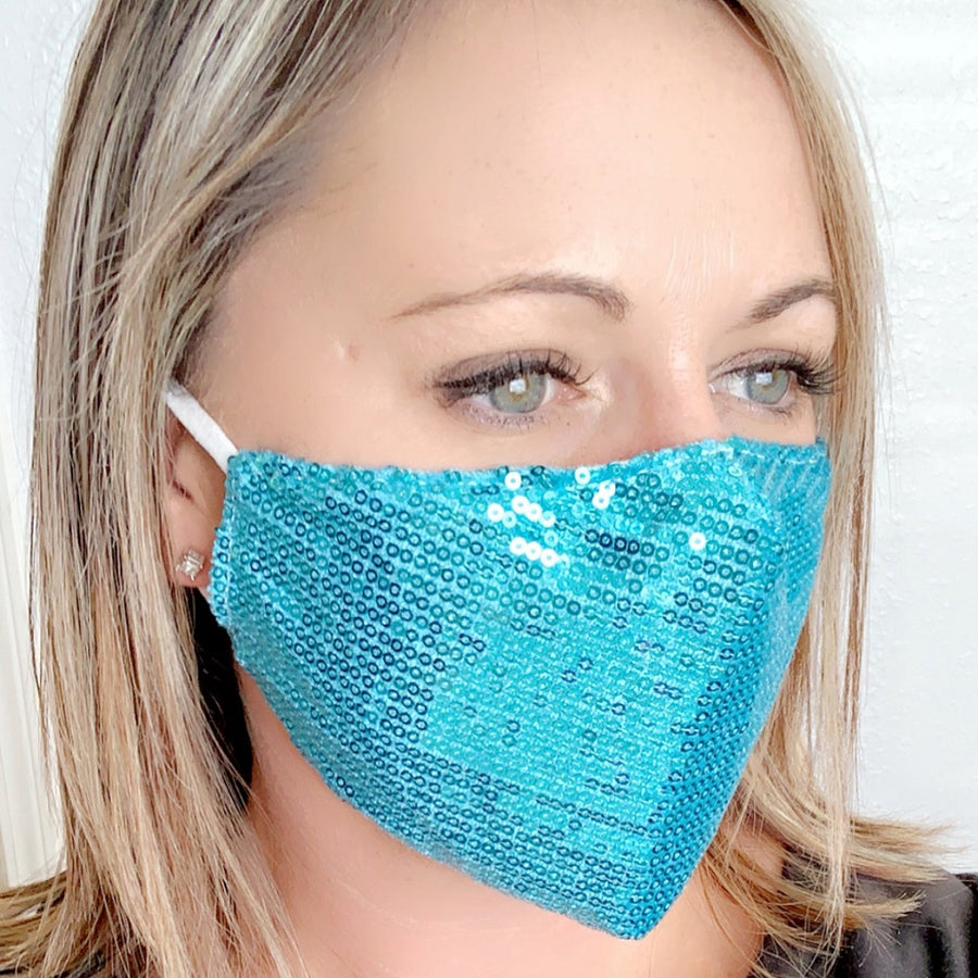 Sequins Sparkle Mask