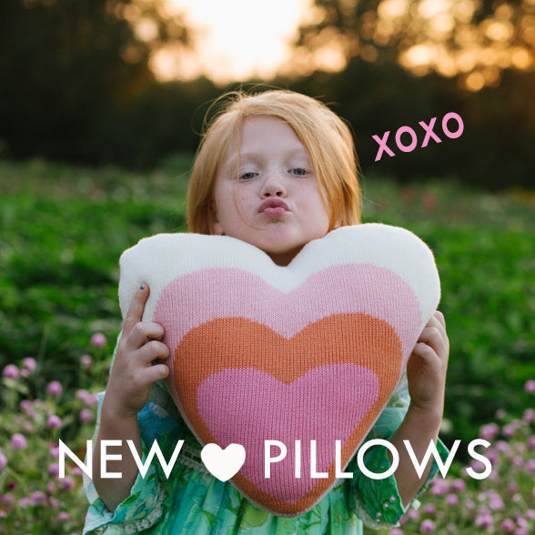 New Heart Pillows are Here!