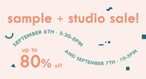 Atlanta Sample Sale!